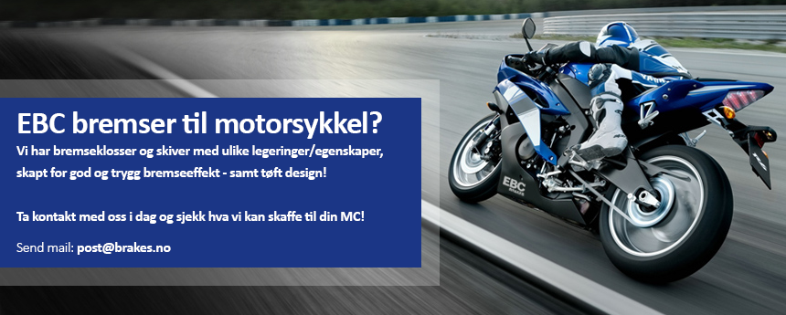 Motorsykkel bremser (EBC Brakes)