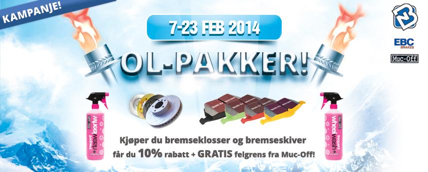 Brakes Norge - OL Pakker!